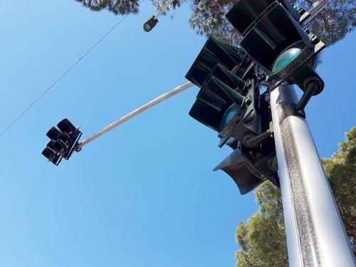 Instalime semaforesh led